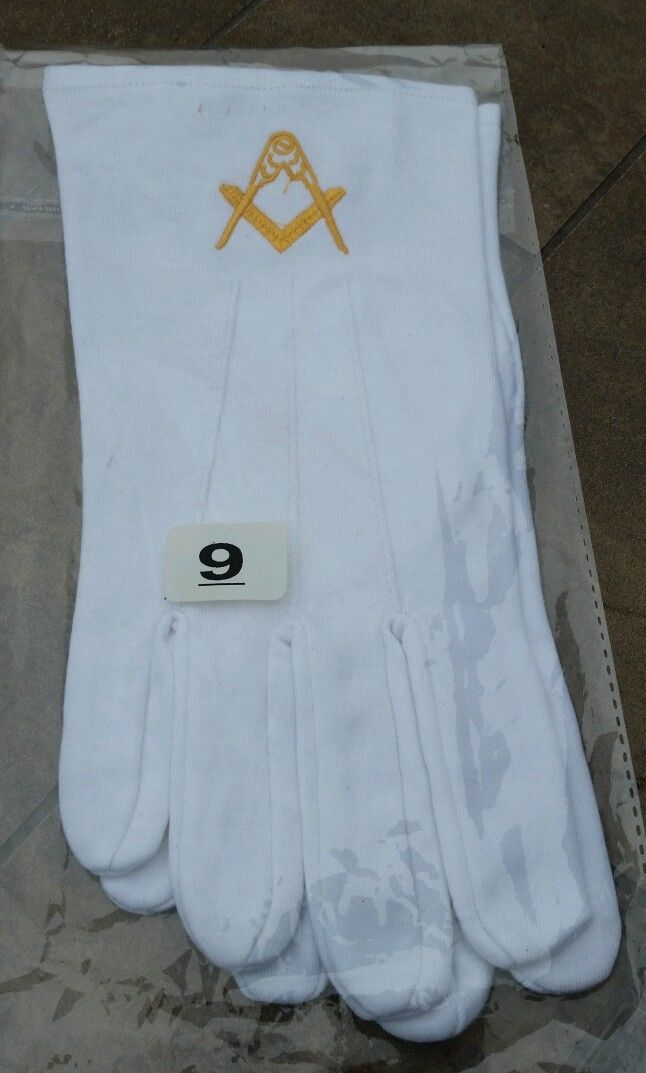 White Gloves -Large