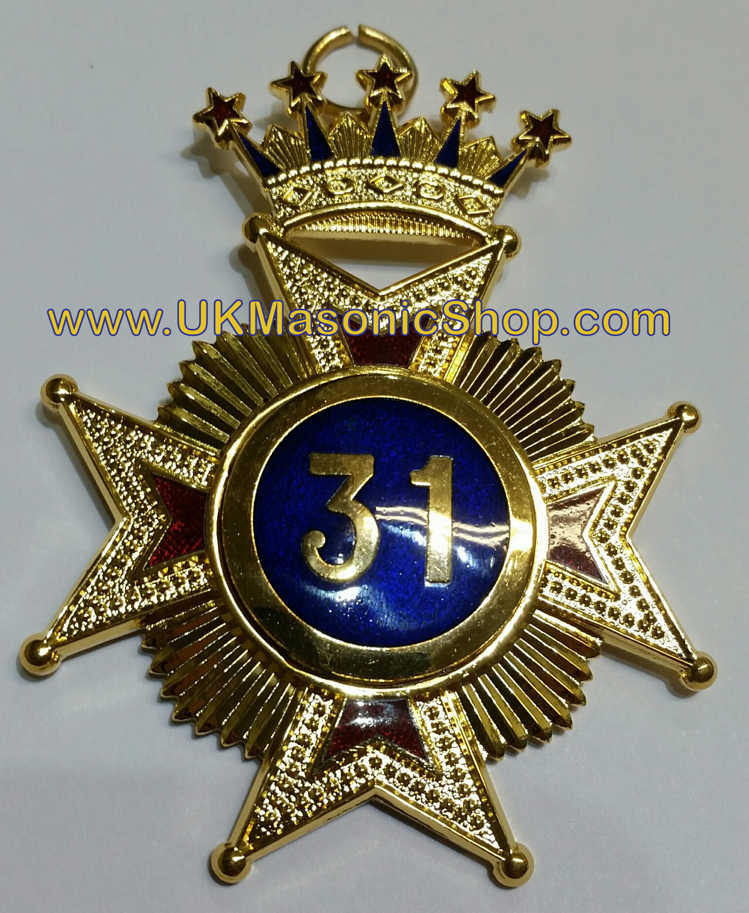 31st degree Collar Jewel