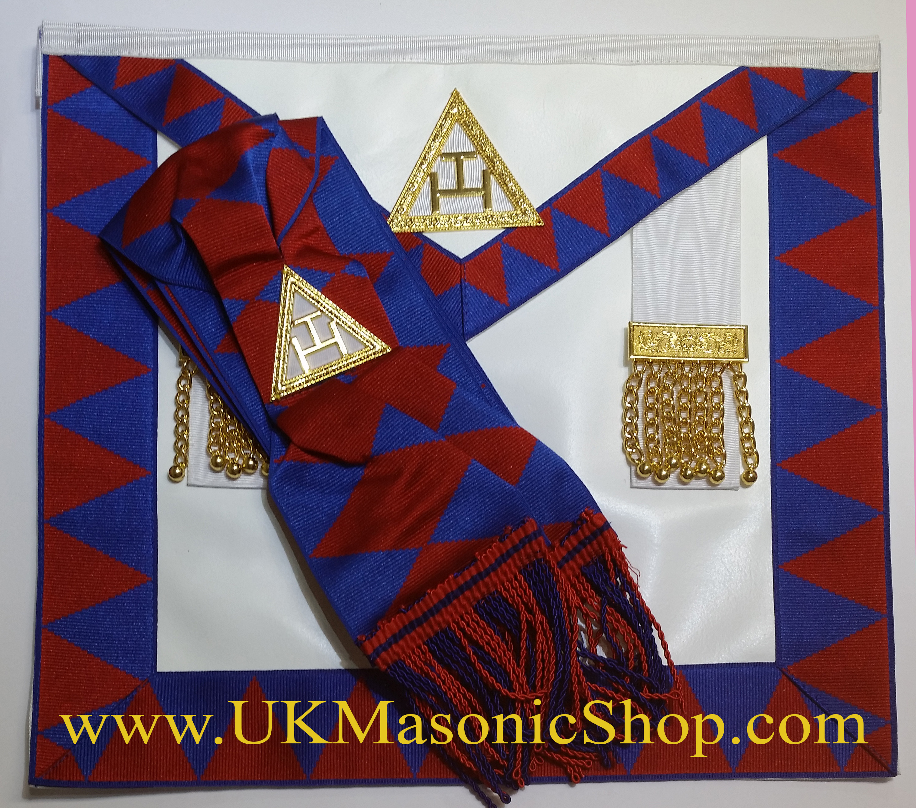 Companions Leather Apron & Sash